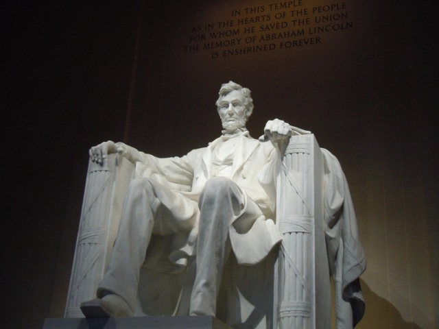 Lincoln and his fasces