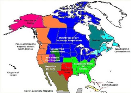 Balkanized North America
